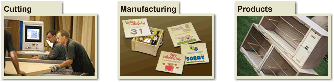 Cutting, Manufacturing, Products