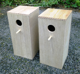Pair Of Cockatiel Parakeet Nesting Boxes 18 Quot X 8 Quot X 8